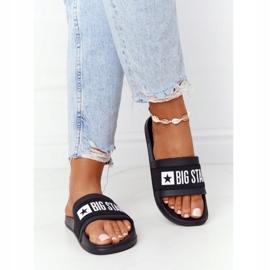Women's Slippers Big Star HH274A013 Black 3