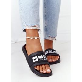 Women's Slippers Big Star HH274A013 Black 2