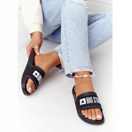 Women's Slippers Big Star HH274A013 Black 5