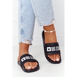 Women's Slippers Big Star HH274A013 Black 4