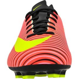 Nike Mercurial Vapor Xi Fg Jr 831945-870 football shoes multicolored red 2