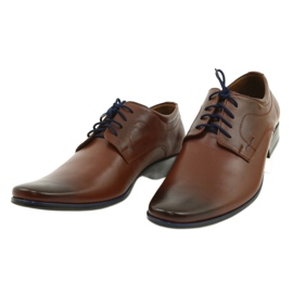 Lukas Men's formal shoes 277 brown 8