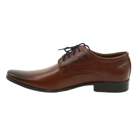 Lukas Men's formal shoes 277 brown 7