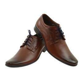 Lukas Men's formal shoes 277 brown 10
