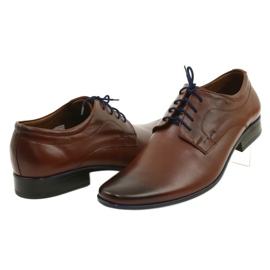 Lukas Men's formal shoes 277 brown 9