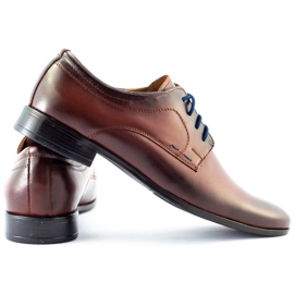 Lukas Men's formal shoes 277 brown 4