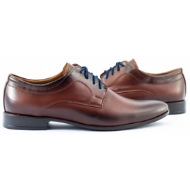 Lukas Men's formal shoes 277 brown 5