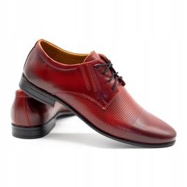 Olivier Formal shoes 482 red 4