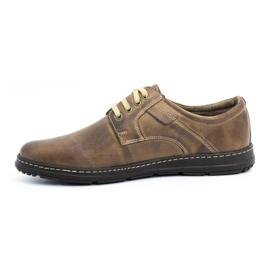 Joker Men's leather shoes 536J brown 1