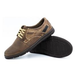 Joker Men's leather shoes 536J brown 3