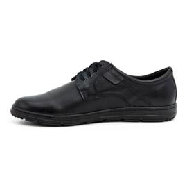 Joker Black men's leather shoes 536J 1