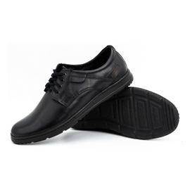Joker Black men's leather shoes 536J 3