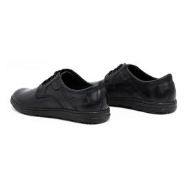 Joker Black men's leather shoes 536J 5