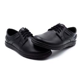 Joker Black men's leather shoes 536J 6