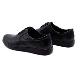 Joker Black men's leather shoes 536J 7