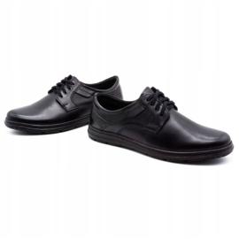 Joker Black men's leather shoes 536J 8