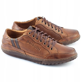 Polbut JOK31 brown casual men's shoes 5