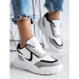 SHELOVET Casual Sneakers white multicolored 2