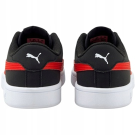 Puma Smash v2 Buck Jr 365182 26 shoes black 4