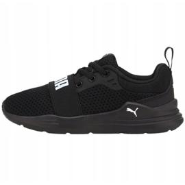 Puma Wired Run Jr 374216 01 black 1
