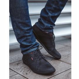 Polbut Men's casual shoes R3 Perforation Black 5