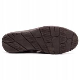 Joker Men's summer leather shoes, slip-on 500J brown 2