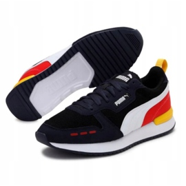 Shoes Puma R78 M 373117 26 navy multicolored 3