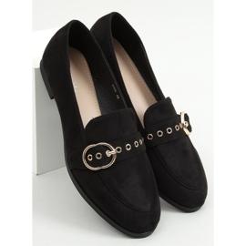 Black Women's black loafers GQ05 Black 3