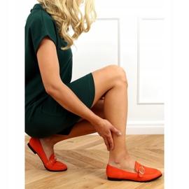 Orange women's moccasins GQ05 Orange 3