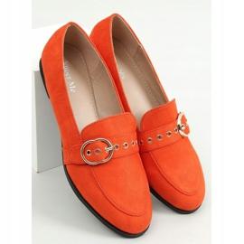 Orange women's moccasins GQ05 Orange 1