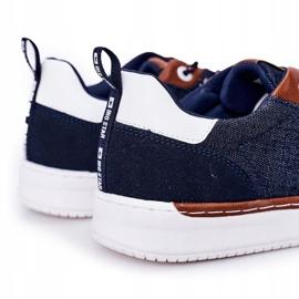 Men's Sneakers Big Star HH174163 Navy blue 1