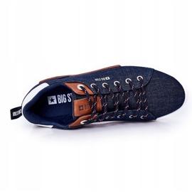 Men's Sneakers Big Star HH174163 Navy blue 2