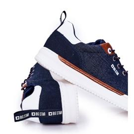 Men's Sneakers Big Star HH174163 Navy blue 3
