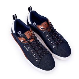Men's Sneakers Big Star HH174163 Navy blue 4