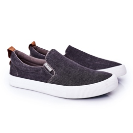 Men's Sneakers Slip-On Big Star DD174162 Gray grey 3