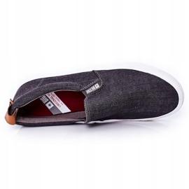 Men's Sneakers Slip-On Big Star DD174162 Gray grey 1