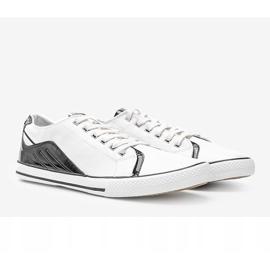 Darion men's white sneakers 1
