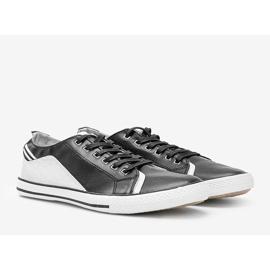 Black Darion men's sneakers 1