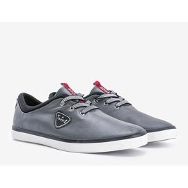 Gray men's Elmer sneakers grey 1