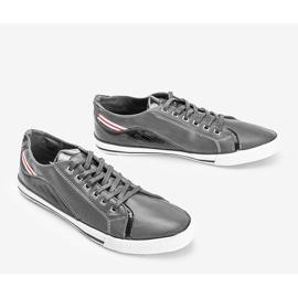 Gray men's Elmer sneakers grey 2