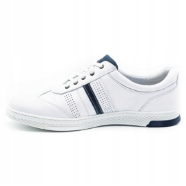 Joker Men's leather casual shoes 521/2 white 2