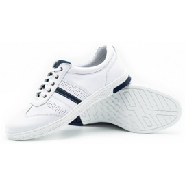 Joker Men's leather casual shoes 521/2 white 4