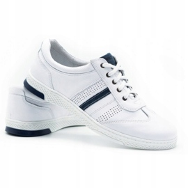 Joker Men's leather casual shoes 521/2 white 5