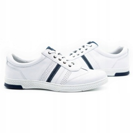 Joker Men's leather casual shoes 521/2 white 6
