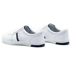 Joker Men's leather casual shoes 521/2 white 8