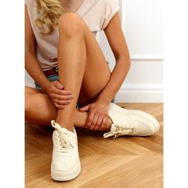 Women's beige sports shoes G191 Beige 2