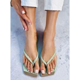 Mint flip-flops 35-220 Green 2