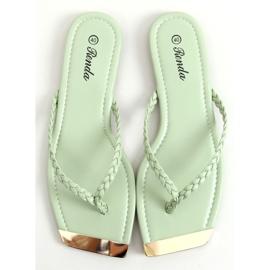 Mint flip-flops 35-220 Green 1