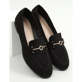 Black women's loafers GQ01 Black 1