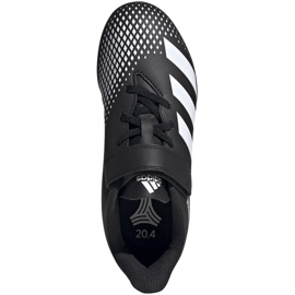 Adidas Predator 20.4 H&L Tf Jr FW9225 football boots black 1